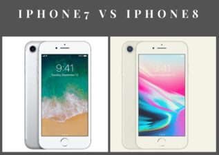 Compare iPhone Vs Iphone 8
